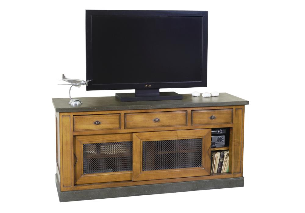 Latitude d co des meubles et objets qui racontent une for Meuble tv qui rentre